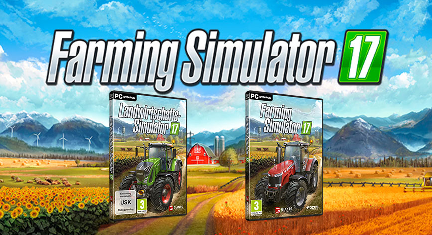 Farming Simulator 2017 game was released for PC, PS4 and