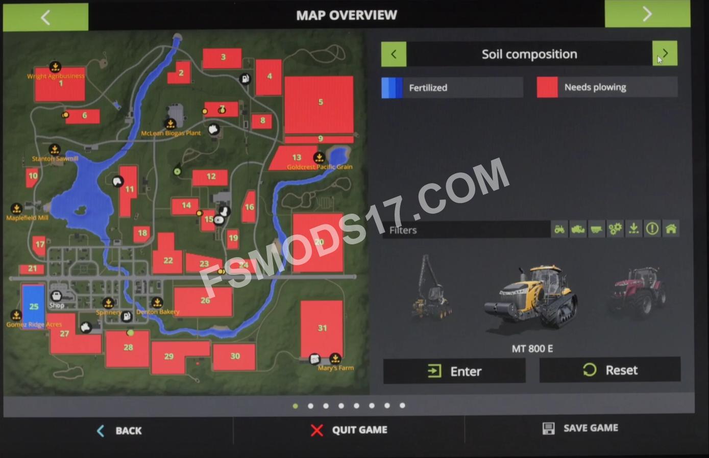 Farming Simulator 17 New Ui Video Fs2017 Farming
