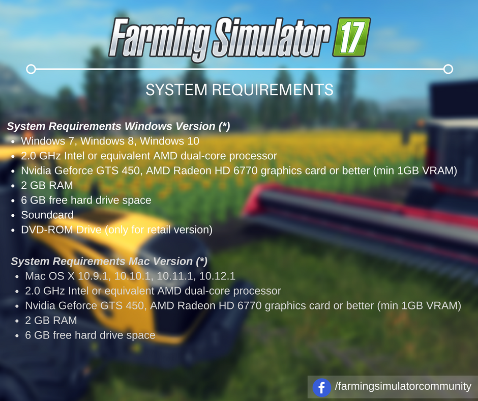 Farming simulator 19 / 2019 system requirements | fs19 system.