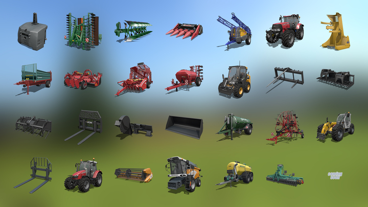 Farming Simulator 17: New Brand and more fact sheets! (video