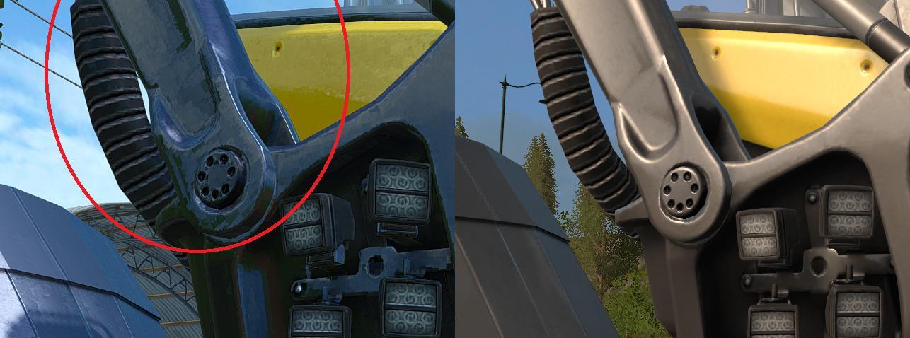 Farming Simulator 17 vs FarmingSimulator 15 (Graphics