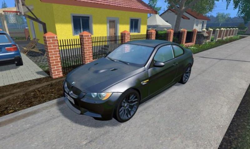 BMW M3 E92 V 1 FS 17 - Farming Simulator 17 mod / FS 2017 mod