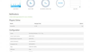 Farming Simulator 17 Dev Blog - Improved Dedicated Servers and App