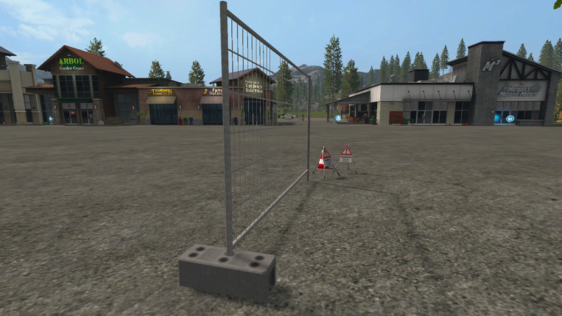 Forestry objects (concrete, moveable) V 1 0 FS17 - Farming Simulator