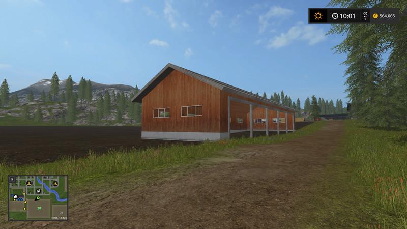 Garage Placed Anywhere V 100 Ls17 Farming Simulator 17 Mod Fs