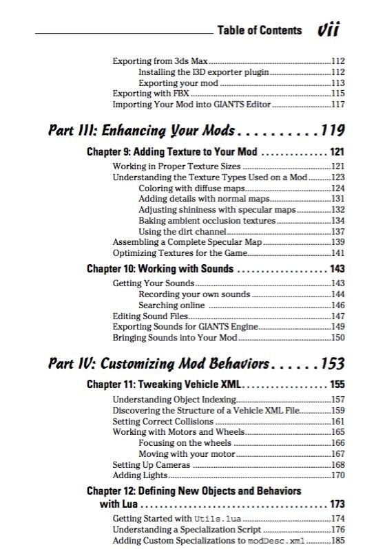 How to make mods for Farming Simulator 17? (PDF Books)   LS 2017