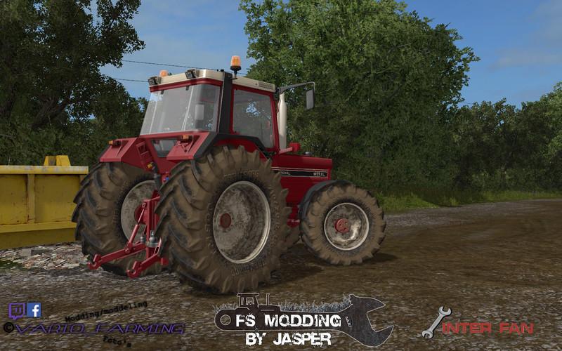 International Tractor Mods : International xl v fs farming simulator