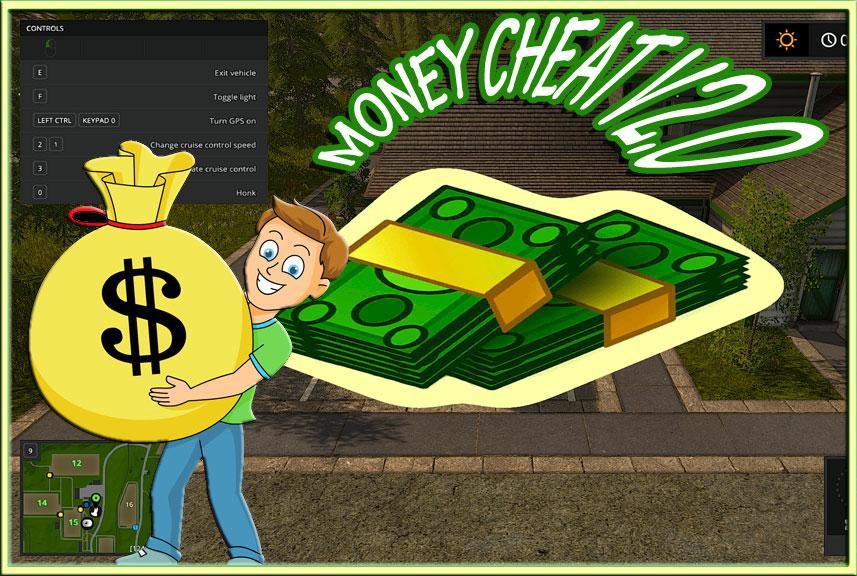 Money Cheat V20 Fs 17 Farming Simulator 17 Mod Fs 2017 Mod