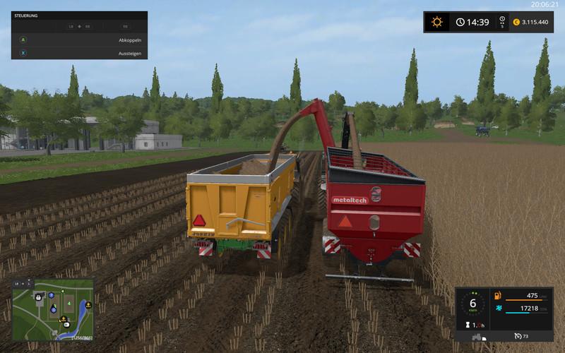 AugerWagon for Woodchips & Chaff V 5 0 FS17 - Farming