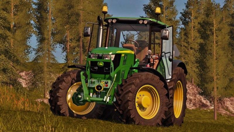 John Deere Side By Side >> JOHN DEERE 6115M V1.2 FS17 - Farming Simulator 17 mod / FS ...