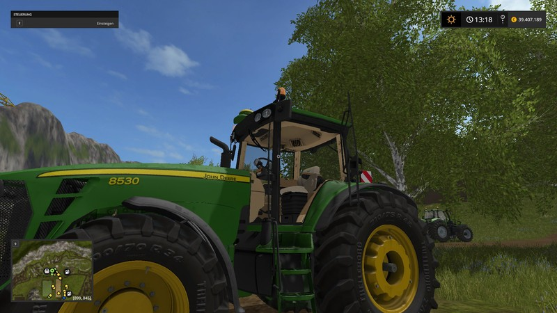 John Deere 8530 V 2 0 Fs 17 Farming Simulator 17 Mod