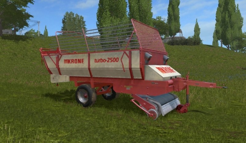 KRONE TURBO 2500 TRAILER - Farming Simulator 17 mod / FS 2017 mod