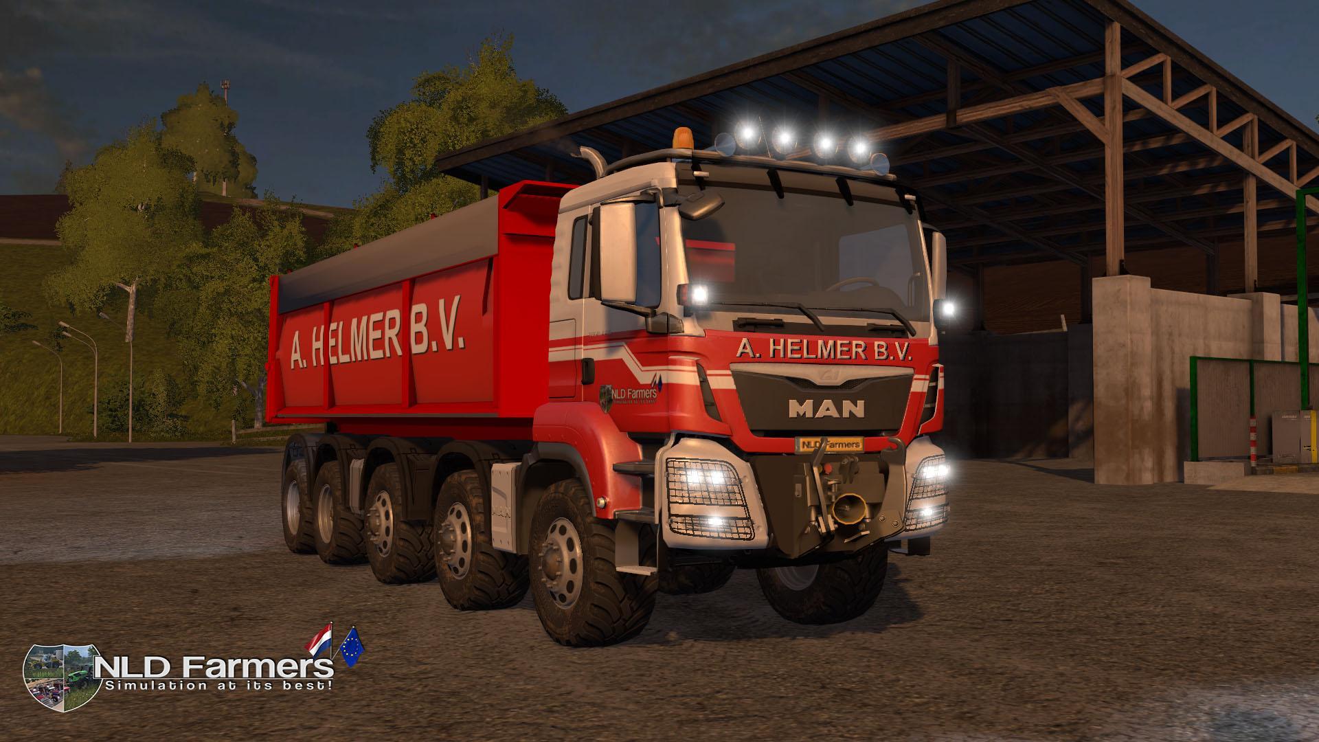 Man A Helmer B V V2 1 Truck Fs17 Farming Simulator 17
