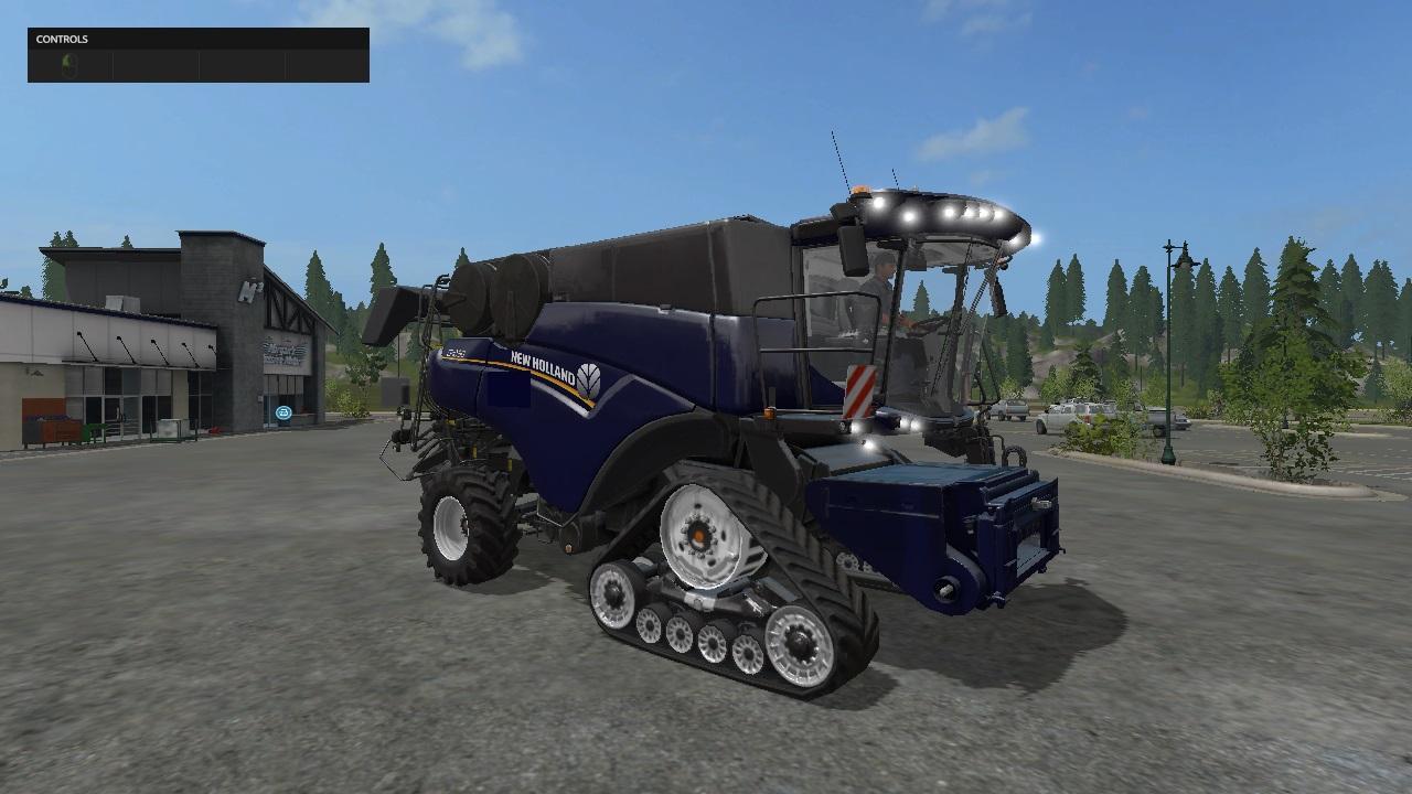 NEW HOLLAND CR1090 PACK V1 2 COMBINE - Farming Simulator 17 mod / FS