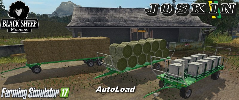 Pack Joskin Wago Baletrailer Autoload V 1 0 3 Autoload Fs 17 Farming Simulator 17 Mod Fs