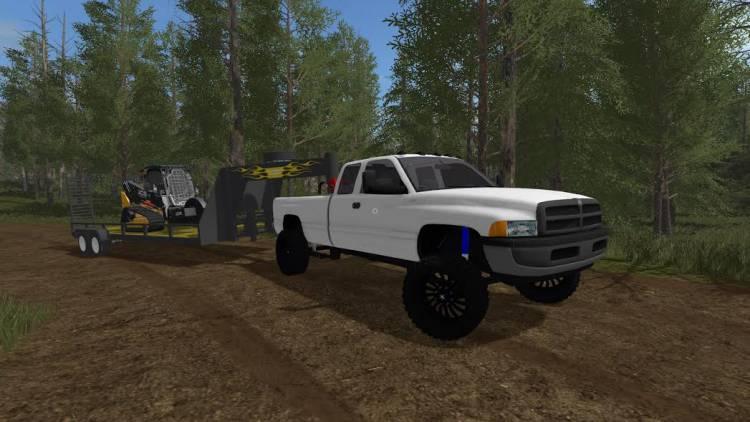 Pickup Dodge 2017 >> Second Gen Dodge Cummins FS 17 - Farming Simulator 17 mod / FS 2017 mod