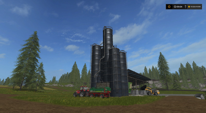Silage Silo UPK V 0 4 FS 17 - Farming Simulator 17 mod / FS 2017 mod