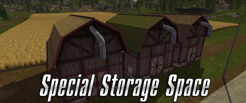 Special Storage Space V 1 0 FS 17 - Farming Simulator 17 mod