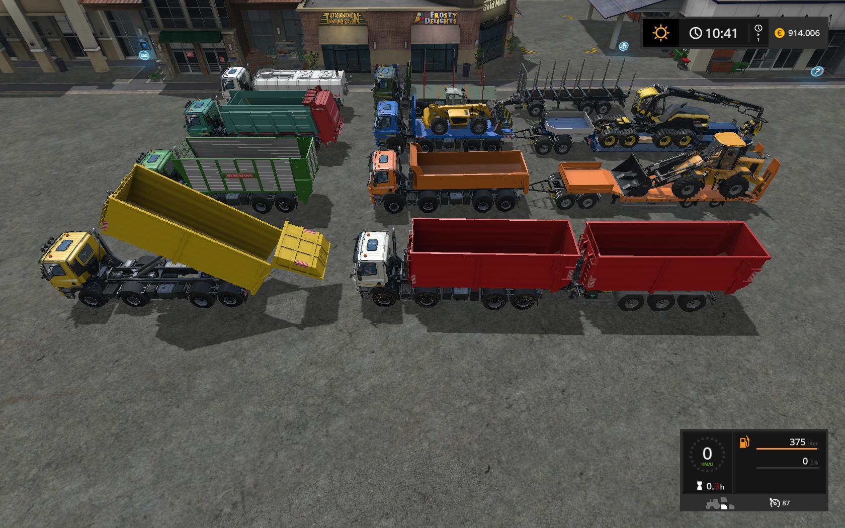 TATRA PHOENIX 8X8 IT RUNNER V1 0 FS17 - Farming Simulator 17