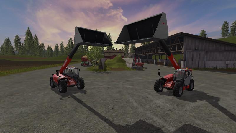 UNIVERSALSCHAUFEL 10000 V2 0 FS 17 - Farming Simulator 17 mod / FS