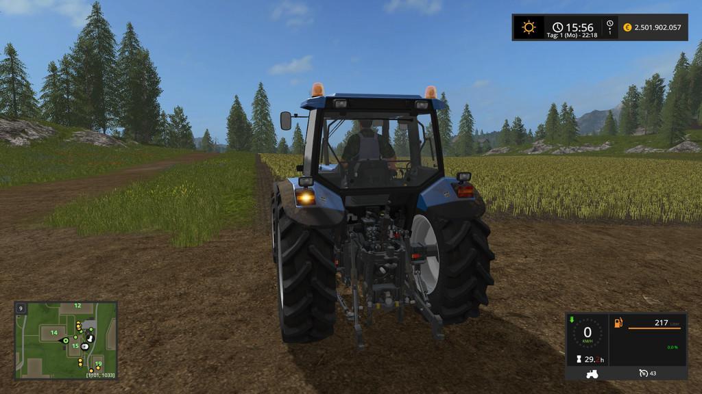 AUTO TURN OFF TURN LIGHTS FS17 - Farming Simulator 17 mod