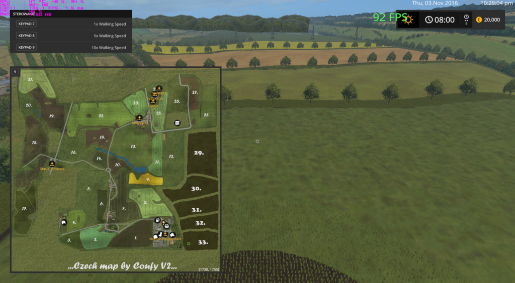 CZECH FS 17 - Farming Simulator 17 mod / FS 2017 mod