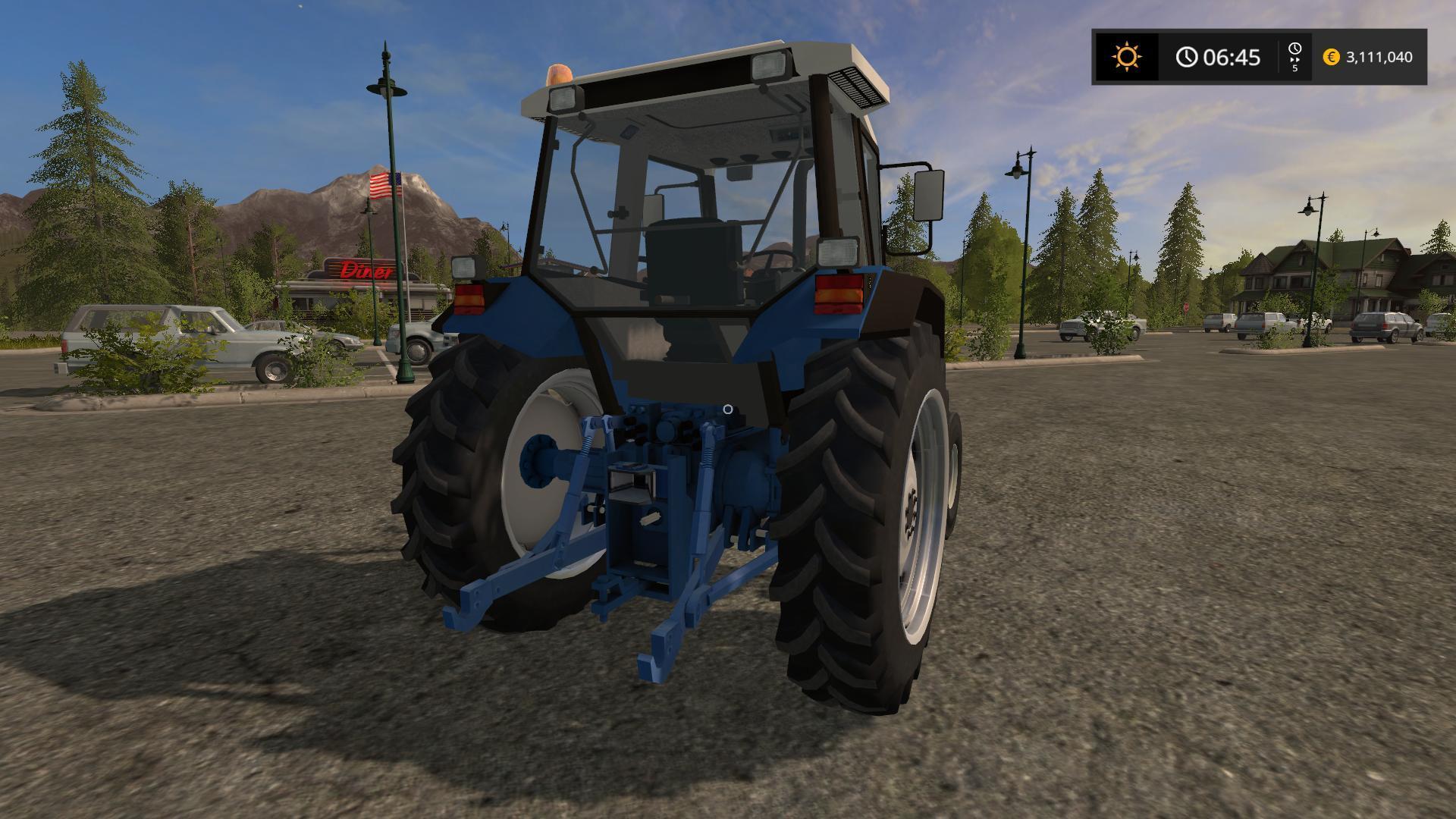 FORD 6640 2WD V1 LS2020 - Farming Simulator 17 mod / FS 2020 mod