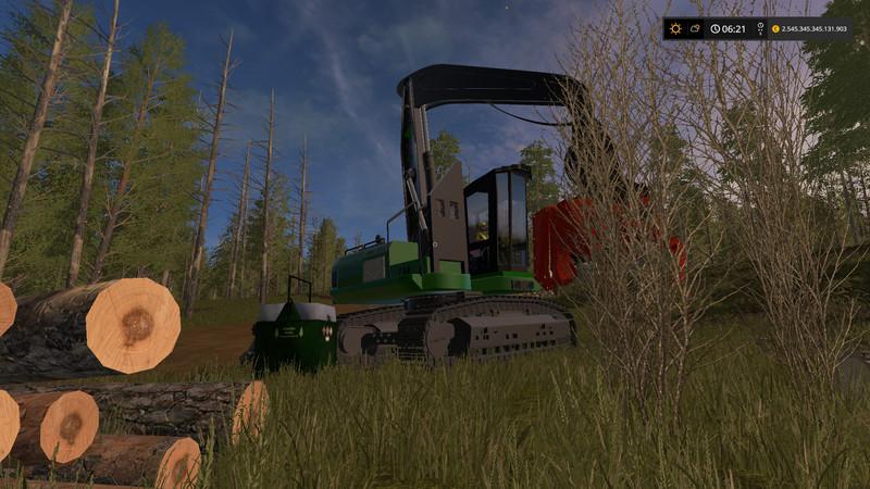 Mobile 800L diesel tank for the forest V 1 LS 2017 - Farming