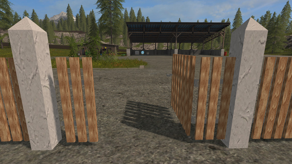 Placeable Fence Set Fs2017 Farming Simulator 17 Mod Fs