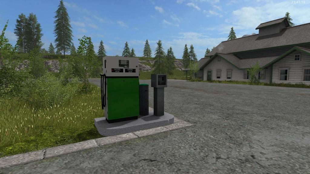 Placeable Fuelstation Fs 17 Farming Simulator 17 Mod