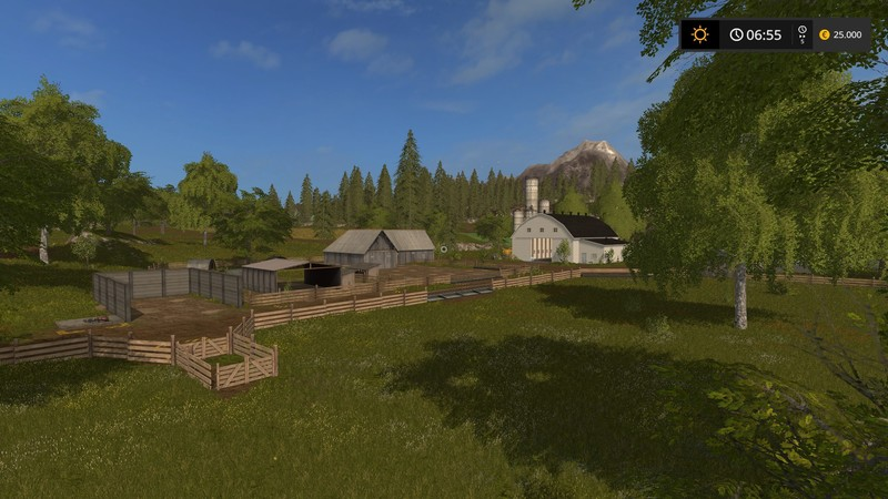 Us Valley V Map Farming Simulator Mod FS Mod - Us map mod fs 17