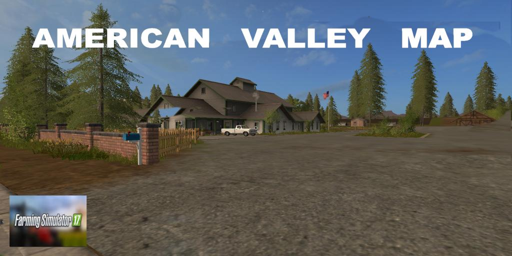 Canadian Map Fs17%0A AMERICAN VALLEY MAP V    FS