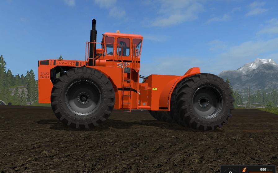 Big Bud Tractor : Big bud color pack v fs farming simulator