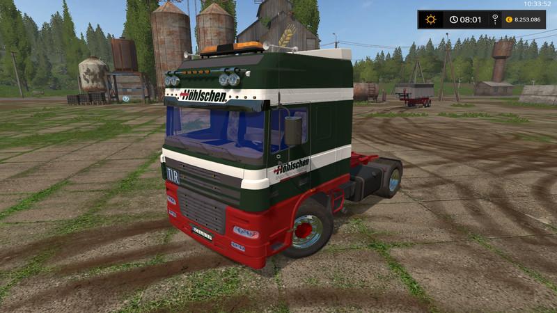 Скачать моды тягачей для farming simulator 2018