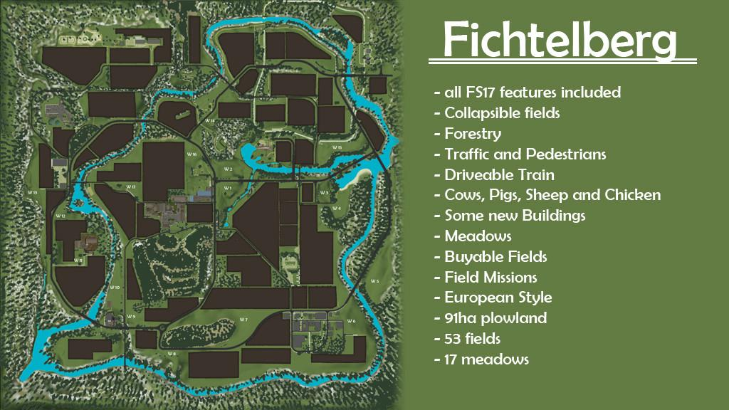 🌱 Top downloaded fs17 maps | FS17 Maps mods / Farming