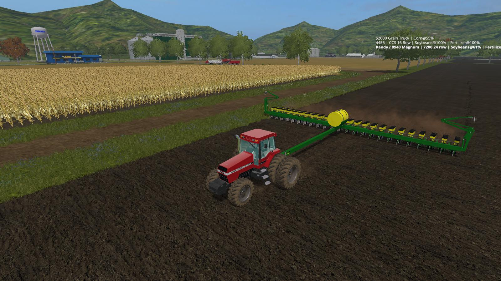 John Deere 7200 24 Row Planter V1 0 0 1 Ls17 Farming Simulator 17