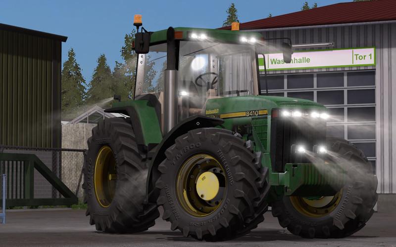 John Deere 8400 8410 V 1 0 0 0 Fs17 Farming Simulator 17