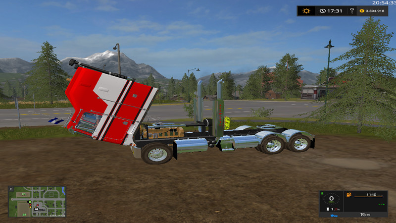 KenworthK100CabOver FS17 V 1 Truck - Farming Simulator 17