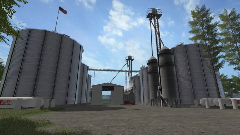 AMERICAN FARM MAP V FS Farming Simulator Mod FS Mod - Us map mod fs 17