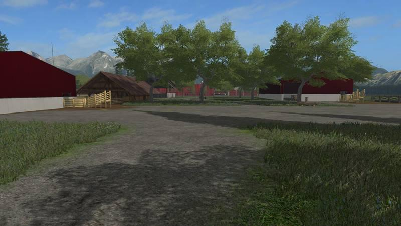 AMERICAN FARM MAP V FS Farming Simulator Mod FS Mod - Fs 17 us map
