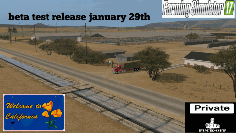California Central Valley V 1 Beta FS17 - Farming Simulator 17 mod