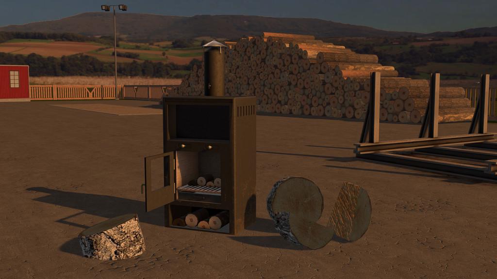 Fireplace Simulator Part - 16: Fireplace FS 17