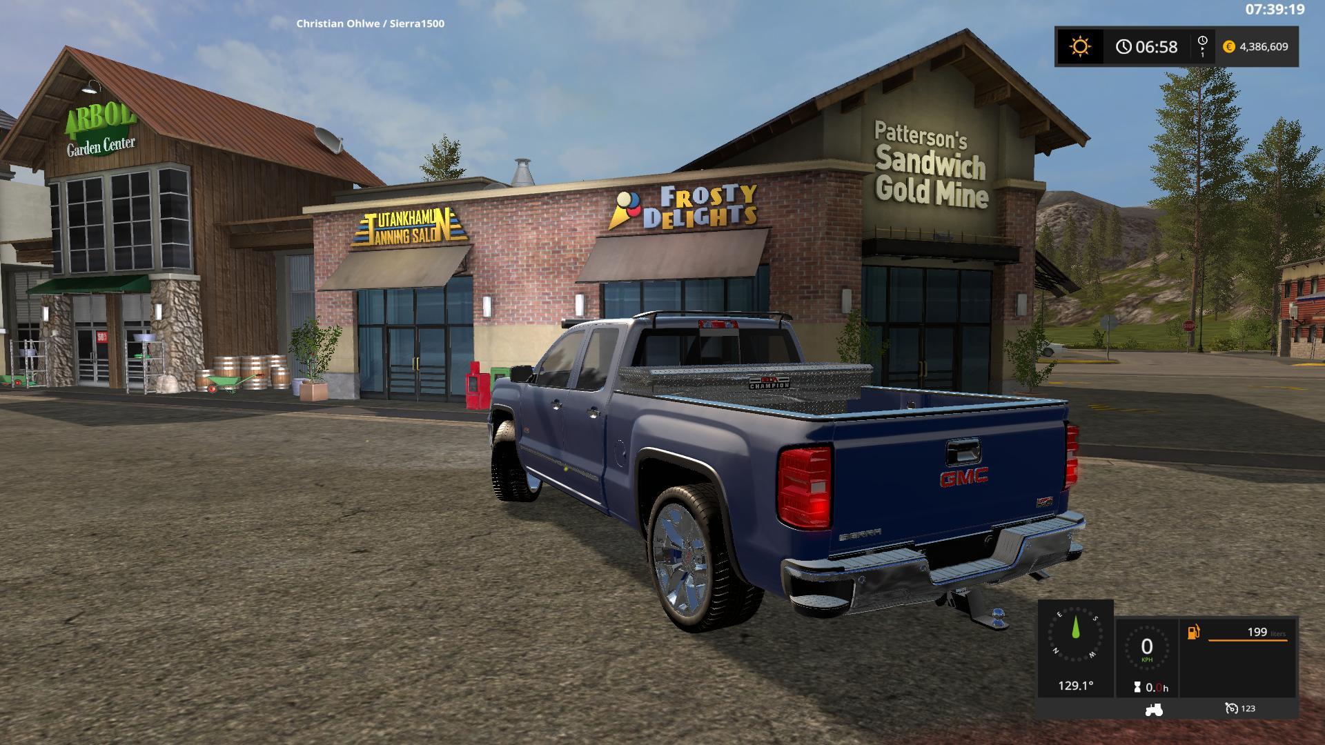 Gmc Sierra 1500 V1 1 0 0 Fs17 Farming Simulator 17 Mod