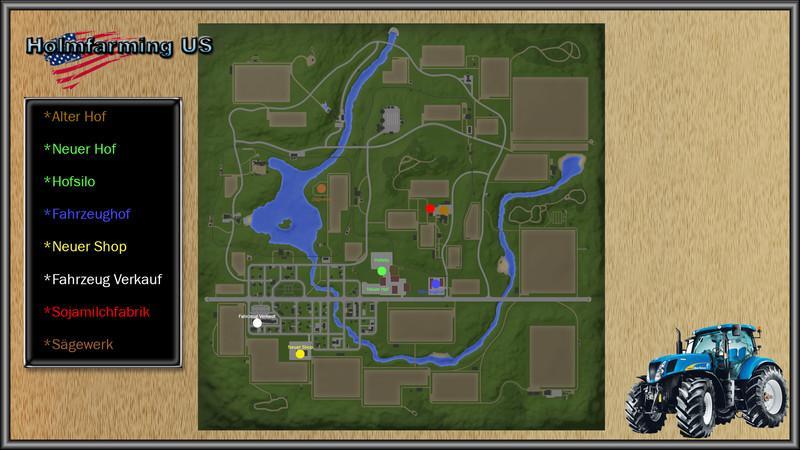 HOLMFARMING US V FS Farming Simulator Mod FS Mod - Us map mod fs 17