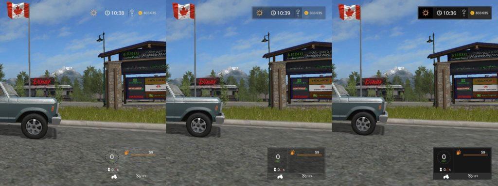 Hud Transparent V1 0 Mod Farming Simulator 17 Mod Fs