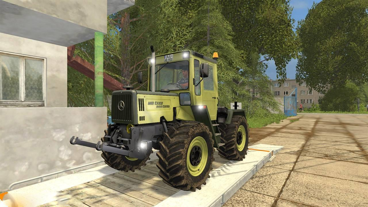 MERCEDES-BENZ TRAC 900 TURBO V2 0 FS17 - Farming Simulator 17 mod