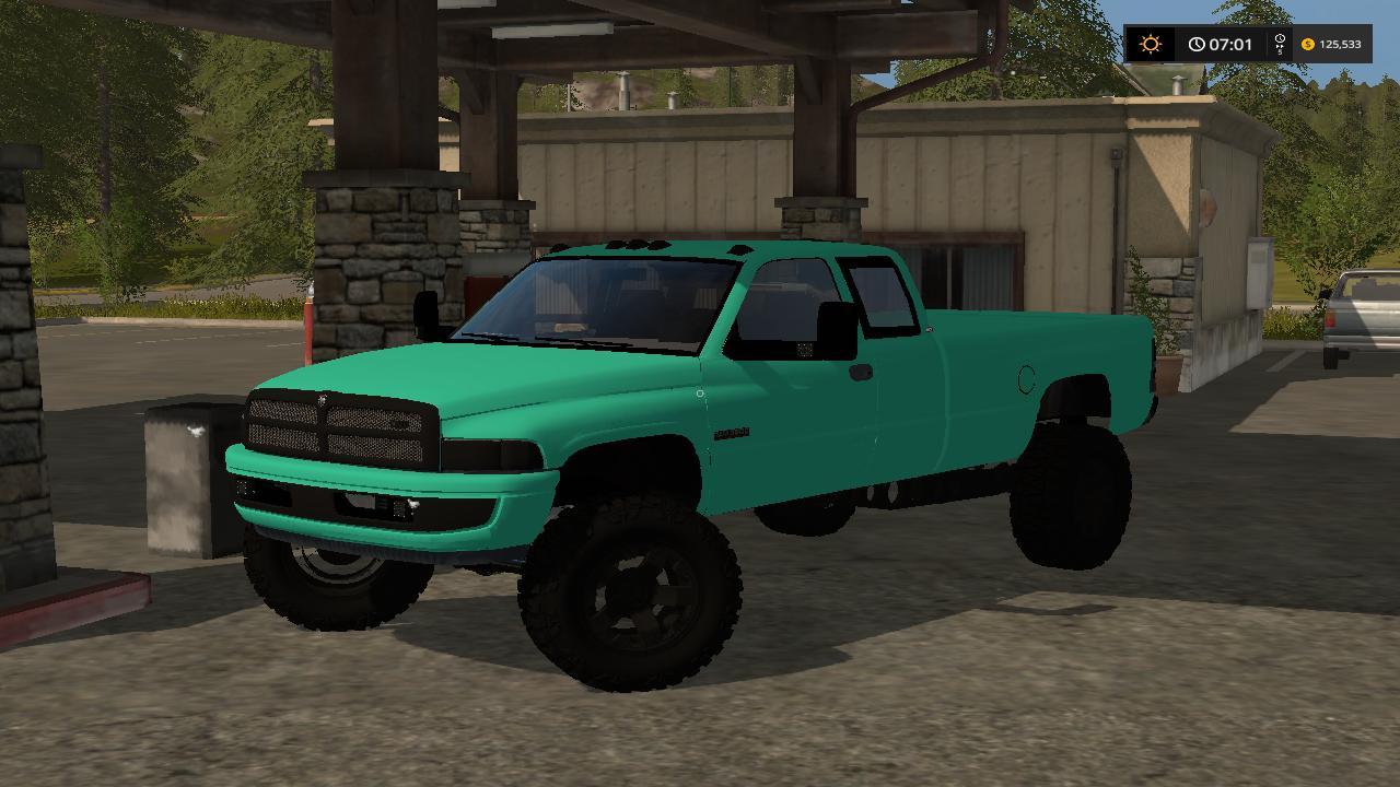 Mint Green 2nd Gen Dodge 3500 Cummins V1 Fs17 Farming