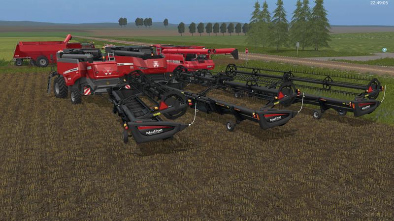 Macdon Fd75 V 1 Fs 17 Farming Simulator 17 Mod Fs 2017 Mod