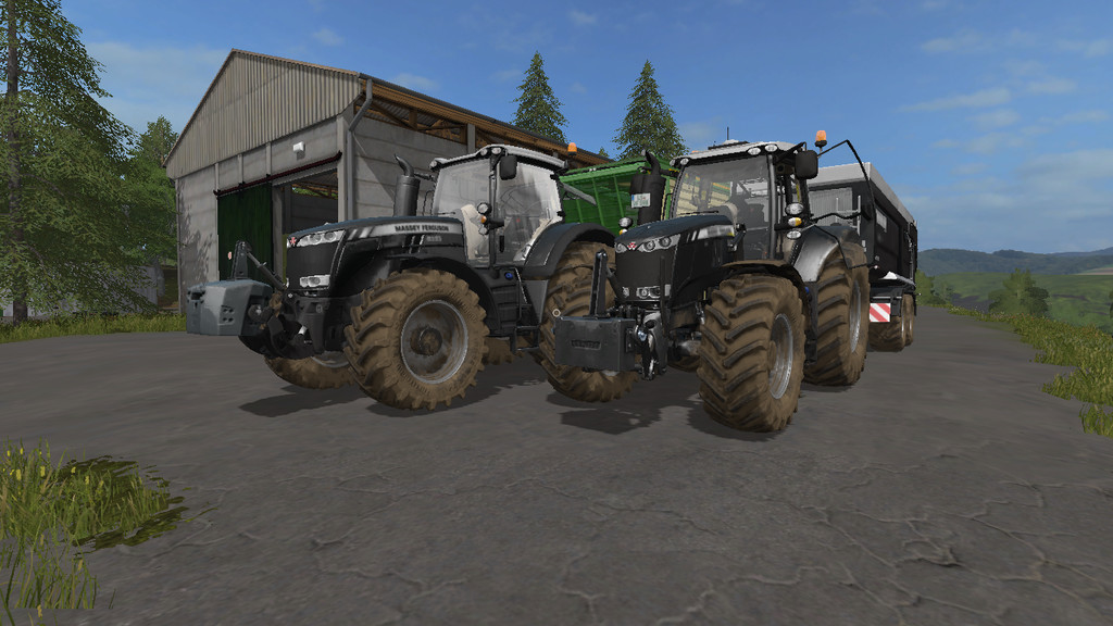 Massey Ferguson 8700 with IC-Control 2 0 0 0 FS 17 - Farming