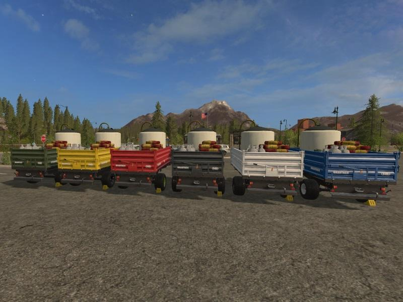 SEED & FERTILISER REFILL TRAILER FS17 - Farming Simulator 17